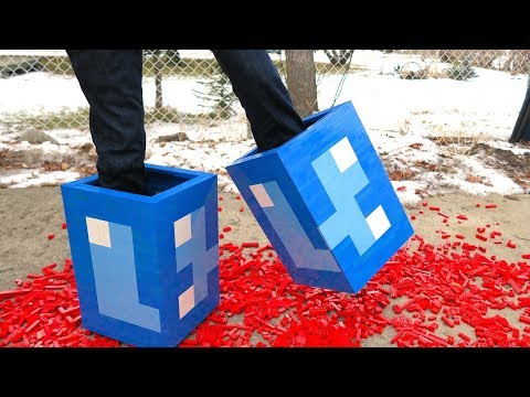 LEGO Diamond Boots - Minecraft
