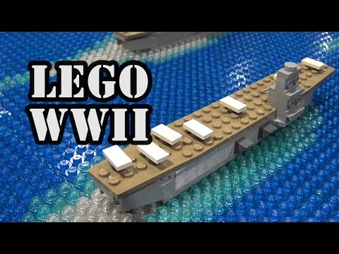 WWII Pearl Harbor Attack Timeline in LEGO | BrickFair Alabama 2017