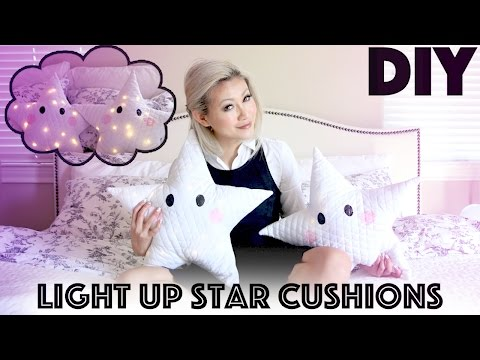 DIY: Star Lit Pillows (Let's Get Lit Gifts)