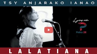 Tsy anjarako ianao - LALATIANA (Live Palais des Sports Déc 2012)