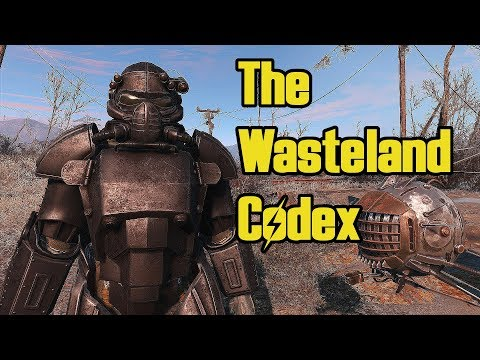 The Wasteland Codex- Interactive Lore Database voiced by The Storyteller   Fallout 4 Mods  