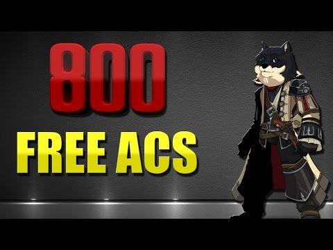How to Spend 800 Free Acs AQW 2016 ✔