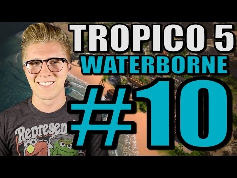 Let's Play Tropico 5: Waterborne [Gameplay] Part 10 - Rum Distillery!
