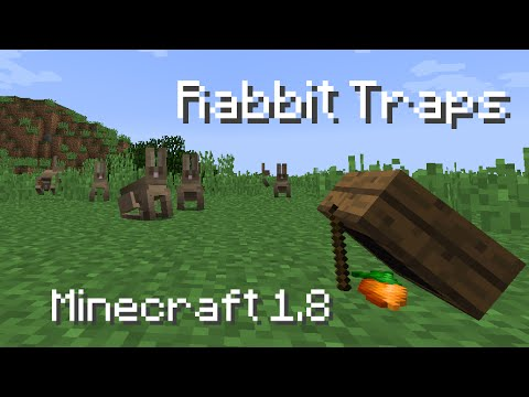 Minecraft - Rabbit Traps