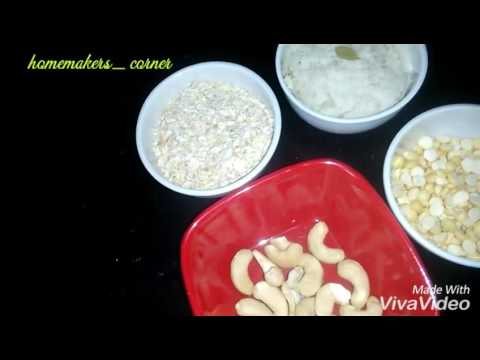 Homemade baby food | Weight gaining food for baby |