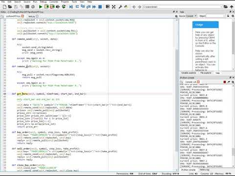 Tutorial: How to Integrate Python with MetaTrader 4 (with an