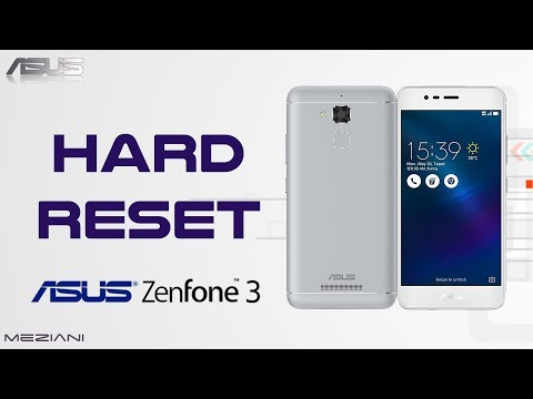 Hard Reset ASUS ZenFone 3 Max and other model ASUS