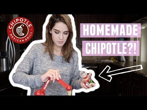 TESTING AT HOME CHIPOTLE RECIPES