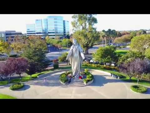 Our Lady Of Peace Shrine Mavic Pro View