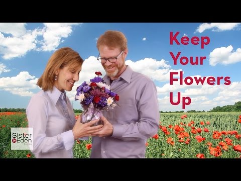 How To Keep Your Flowers Up