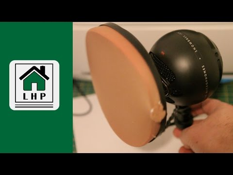 Cheapest DIY Pop Filter - Under $2 and Made in 20 Minutes or Less - LHP