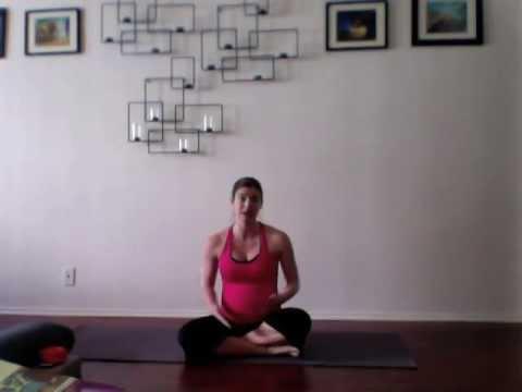 Pregnancy Yoga Week 16 - Sciatic Pain & Lower Back Pain Relief