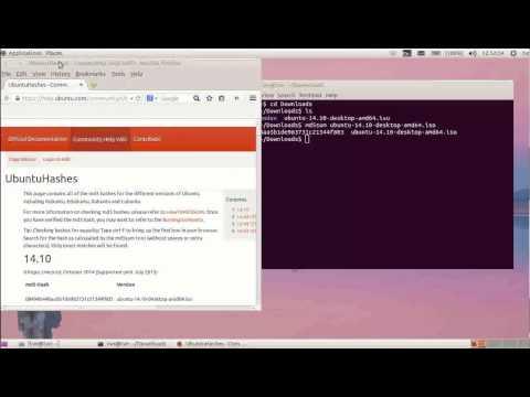 ubuntu downloaden check ubuntu iso file
