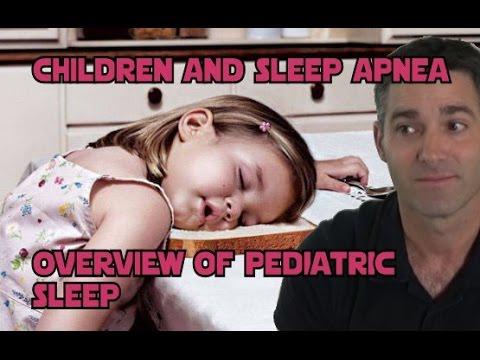 Pediatric Sleep Apnea: Child Snoring/Apnea Video and Kid CPAP Masks Too. Adenotonsillectomy