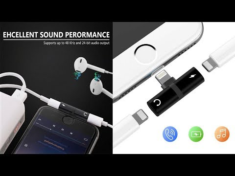 Lightning Splitter Adapter for iPhone X, iPhone 8/8 Plus, iPhone 7/7 Plus
