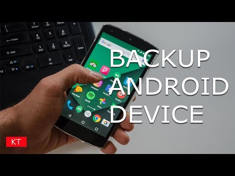 How to backup android to google account