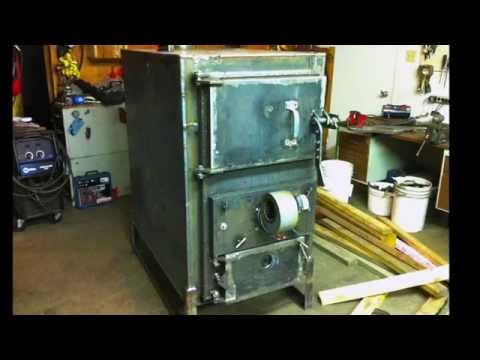 Home Built Wood Gasification Boiler Project