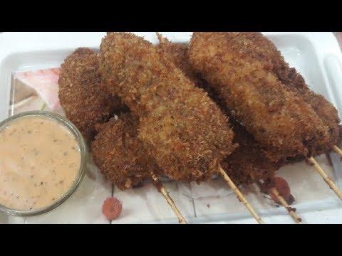 Crispy Chicken Stick with mayo dip/ Stick chicken/Chicken stick/Ramadan special/ English subtitle