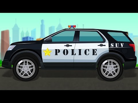 Police SUV | Formation and Uses | Police Vehicles | Learn Vehicle