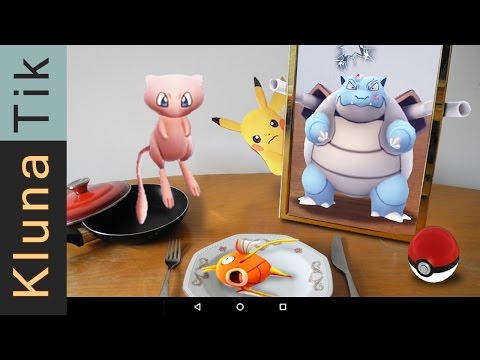 How to CATCH: BLASTOISE, MEW, and a MAGIKARP!! Pokémon Go ASMR eating sounds