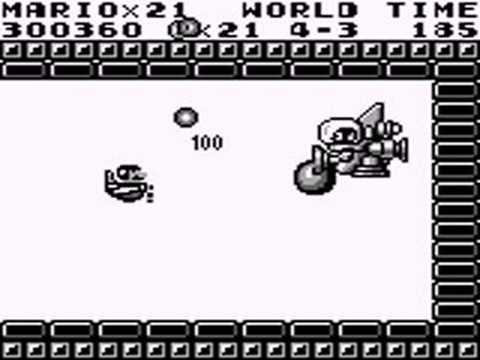 Super Mario Land Boss Rush (no damage) & Ending