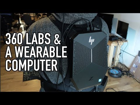 Backpack PC With a Quadro: WTF is it Good For? | 360 Labs Has Ideas