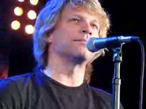 Bon Jovi private concert