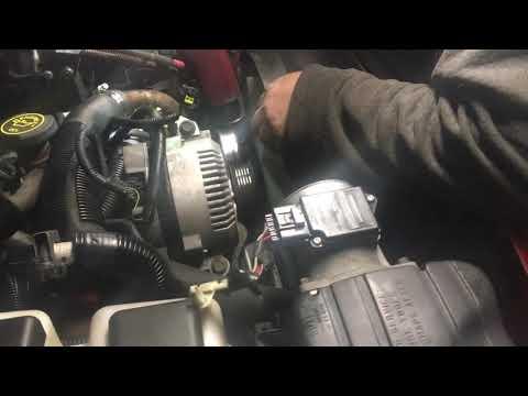 Ford ranger Clutch fan removal easy