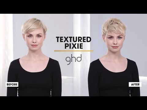 Textured Pixie | ghd Hairstyle How-To