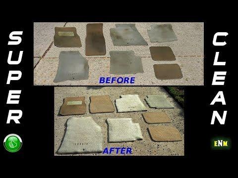 Best Way To Clean Dirty Vehicle Floor Mats