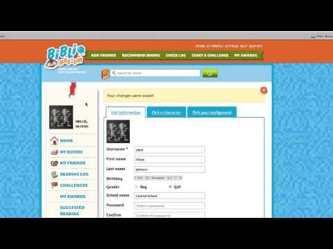 BiblioNasium: For Kids - How to change your avatar