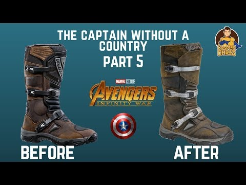 The Captain Without a Country- Part 5: Customizing The Boots!