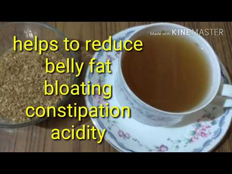 No excersise Flat stomach / Homemade Tea powder: Reduces belly fat/bloating/indigestion