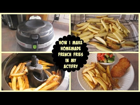How I Make Homemade French Fries In My Actifry