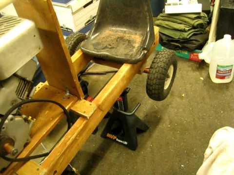 Go cart build PART 1