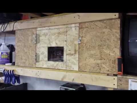 How to Make a Insulated Heated Cabinet for Garage