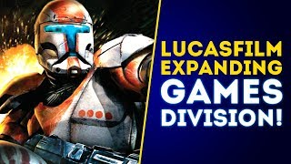 Download Lucasfilm OFFICIALLY Expanding Games Division! New Star Wars Games Coming! Video