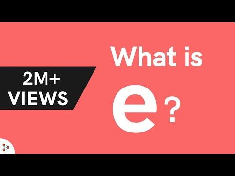 Logarithms - What is e?
