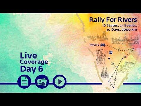 Rally for Rivers - Day 6 - Mysore | Sadhguru