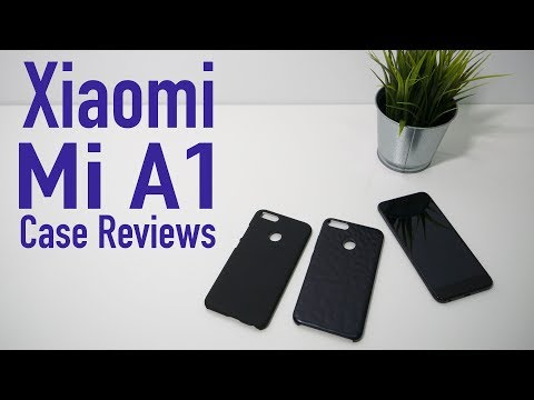Mi A1 - Official Xiaomi Textured Case Review vs Nillkin Frosted Shield