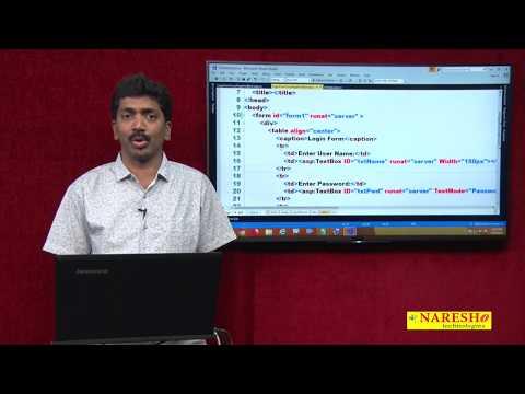 ASP.NET Server Controls CrossPagePostBack Part- 6 | ASP.NET Tutorials | Mr.Bangar Raju