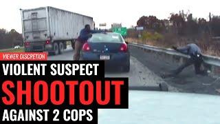 WARNING: Pennsylvania State Police Shootout (Gracie Breakdown)