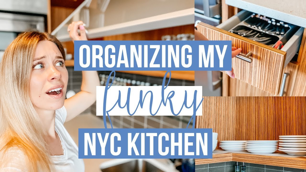 Small Kitchen Organization | New York City Kitchen Tour | This and Nat