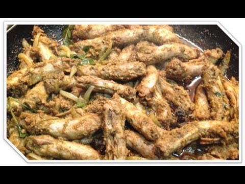 Chicken Necks Braised / Curry - Learn To Cook Indian Curries