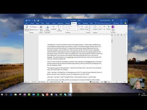#Microsoft365 Day 165: How to use Read Aloud in Microsoft Word