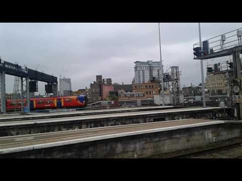 Trains at London Waterloo
