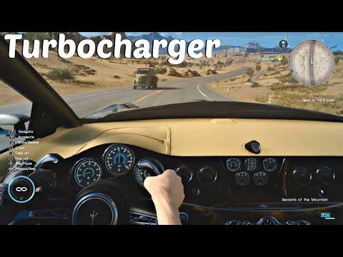 FINAL FANTASY XV - Regalia Turbocharger Location l Boost Speed To 70 MPH