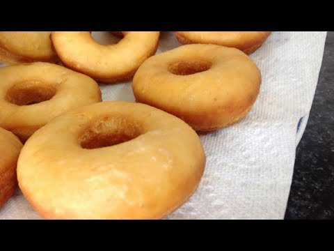 Donuts Recipe Easy - Homemade Doughnuts - Foolproof Donuts by (HUMA IN THE KITCHEN)
