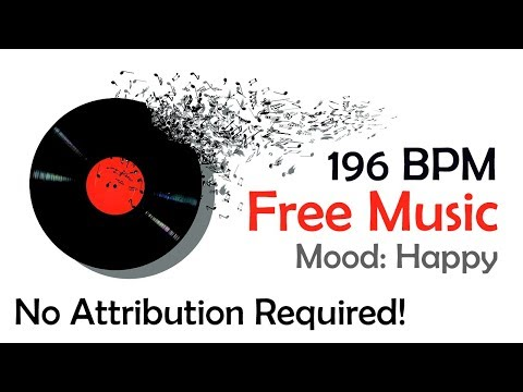 Royalty Free Guitar Music - 196 BPM - Happy Mood