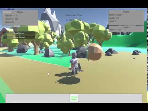 Unity3d Online/Multiplayer RPG animations, equipment, saving